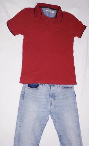 62a3e2cfaf Promoção ! Calça Jeans Levis 510 Skinny + Camisa Polo Levis - Roupas ...