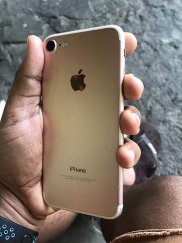 9210a6842 IPhone 7 32 GB Rose Annatel menor preço da OLX - Celulares e ...