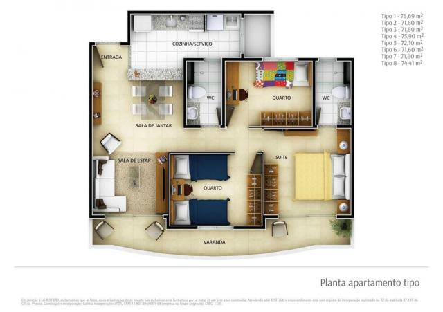 Apartamento residencial à venda, engenheiro luciano cavalcante, fortaleza. - Foto 13