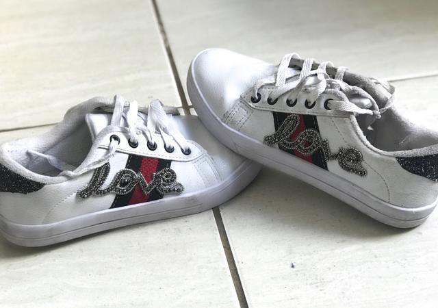 da12a63bb77 Tênis branco - Roupas e calçados - Lavras