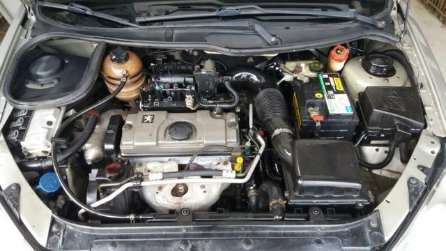 Peugeot 206 top de linha 1.4 8V 5p Ano 2007 repasse - Foto 10
