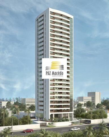 Apartamento Em Olinda 3 Quartos, 2 Suítes, 100m², Lazer Completo, 2 Vaga