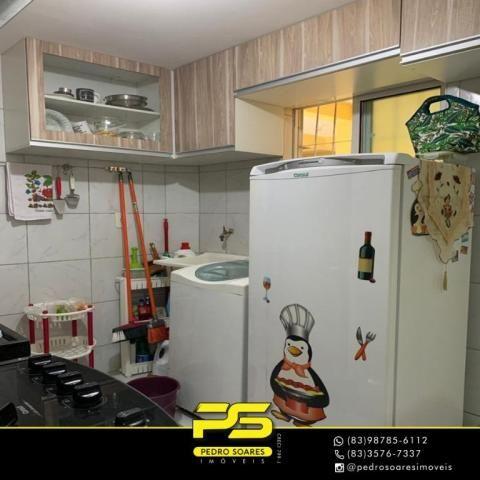 Apartamento com 3 dormitórios à venda, 60 m² por R$ 190.000 - Jardim Cidade Universitária  - Foto 7