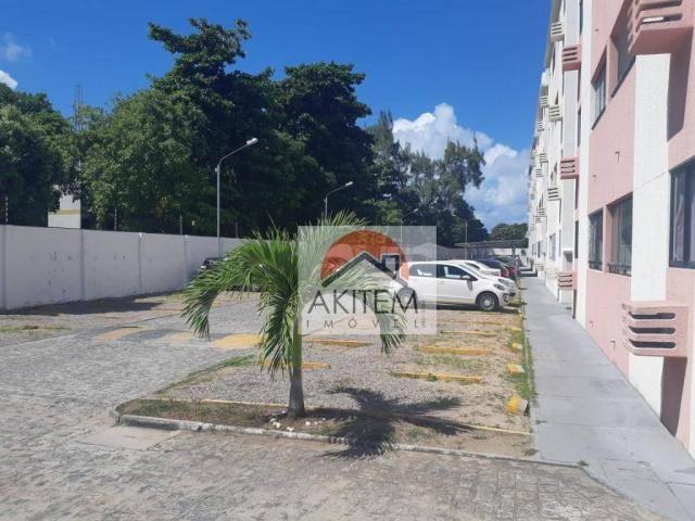 Apartamento com 2 dormitórios à venda, 53 m² por R$ 149.990,01 - Rio Doce - Olinda/PE - Foto 13