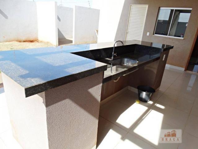 Vende-se casa com 150,41 m2 de laje, Bairro Green Ville ll ? Naviraí - MS - Foto 12