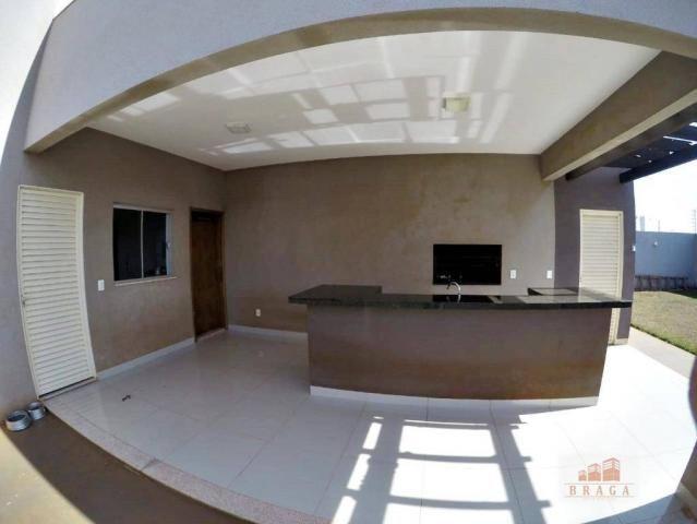 Vende-se casa com 150,41 m2 de laje, Bairro Green Ville ll ? Naviraí - MS - Foto 13