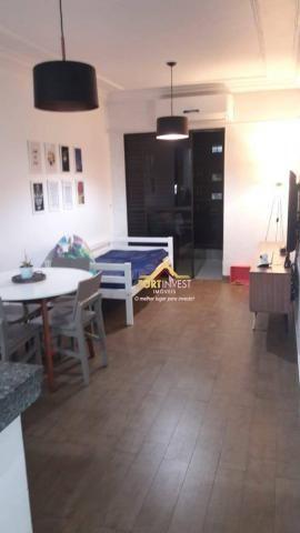 Apartamento com 1 dormitório à venda, 53 m² por R$ 170.000,00 - Canto do Forte - Praia Gra - Foto 7