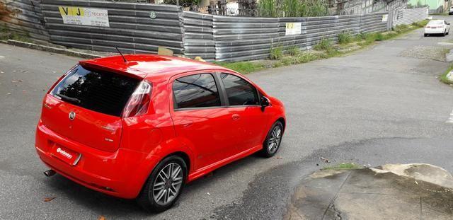 Fiat/ Punto sporting 1.8 2012 completo câmbio manual troco carro/moto - Foto 4