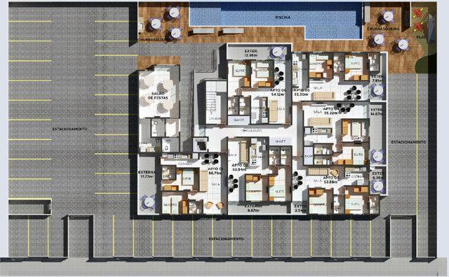 Apartamento com Elevador, Área de lazer, bem localizado no Bairro do Cristo Redentor - Foto 7