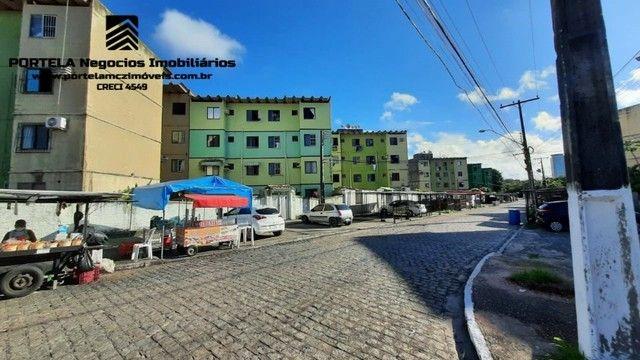 Conjunto José Tenório, 2 quartos, nascente, 1º andar, ótimo estado de conservação