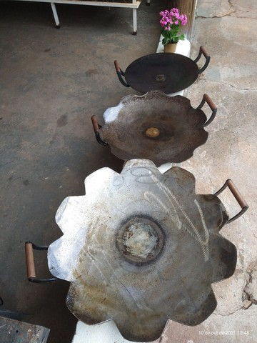 Disco arado alça de madeira - Foto 2