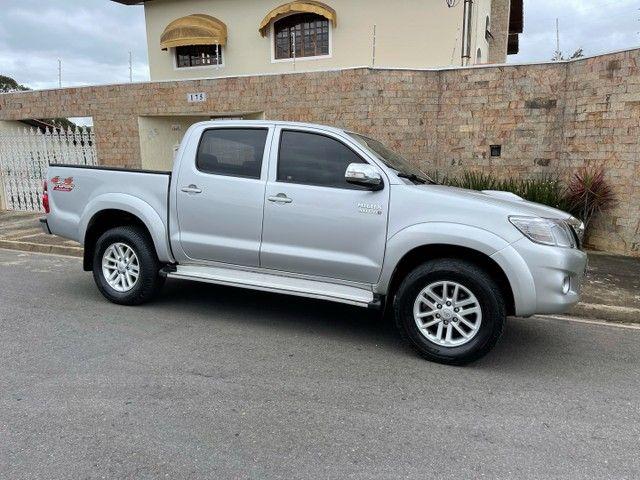 Toyota Hilux 3.0 SRV 2013 TOP Controle tração OPORTUNIDADE ABAIXO FIPE - Foto 2