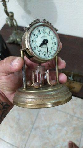 Relógio antigo todo original - Foto 4