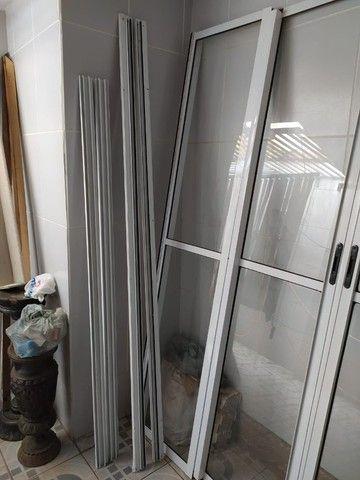 Porta de Vidro, Vidro, Aço, Porta de Vidro com Acabamento Metálico - Foto 2