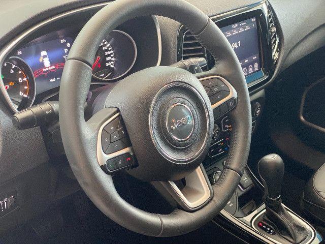 Jeep Compass Limited Diesel 2021 c/ 1.900 km - Foto 9