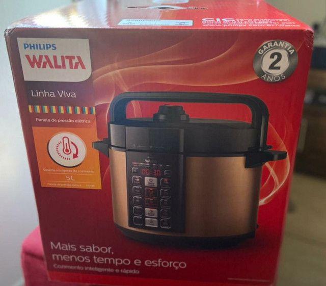 Panela de pressão elétrica Philips Walita 5L  - Foto 2
