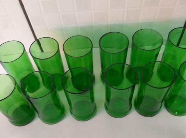 12 copos de garrafa stella artois - Foto 2