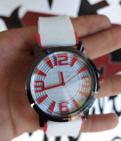 Relógios pulseira borracha  - Foto 2