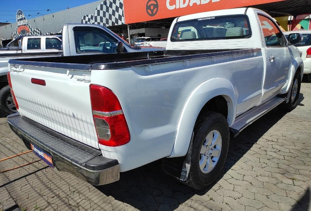 Hilux SRV 3.0 4x4 Diesel Cabine Simples 2008 Completo  -  Raridade - Foto 4