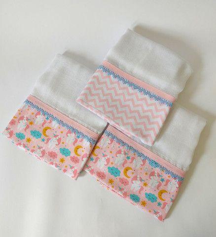 Fraldas e toalhas personalizadas - Foto 5