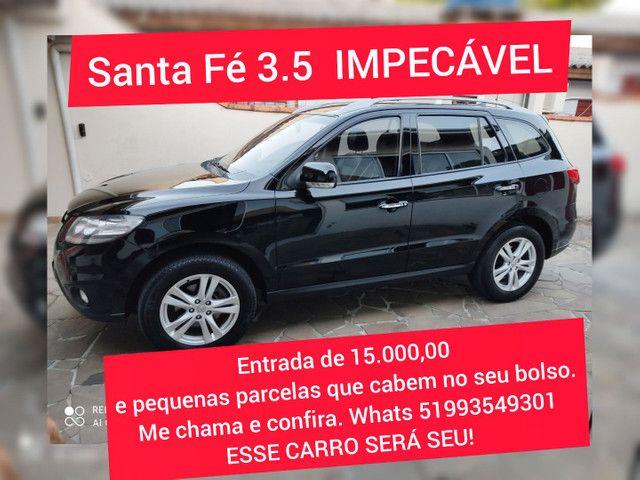 IMPECÁVEL Santa Fé 3.5 V6 Tiptronic 6 marchas