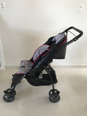 Carrinho bebê Galzerano Milano Reversível II  - Foto 4
