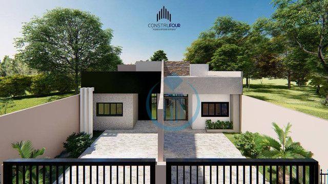 Casa com 1 dormitório à venda, 73 m² por R$ 250.000,00 - Loteamento Don Giovanni - Foz do