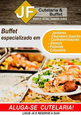 Cutelaria e buffet