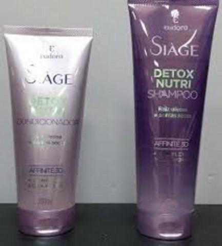 Combo Shampoo Siáge Detox Nutri Eudora
