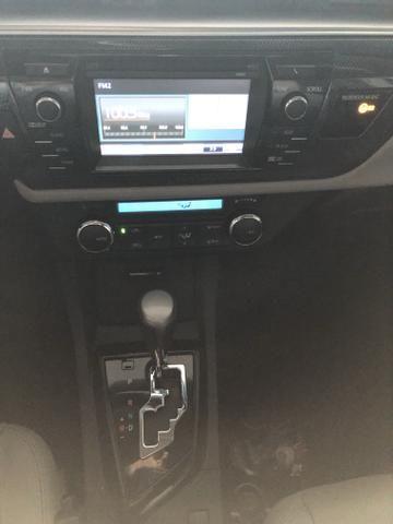 Toyota/Corolla 2.0 xei ano 2016 automático com 45 km - Foto 7