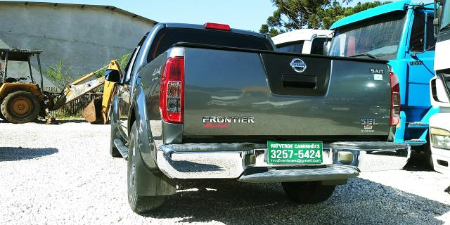 "Caminhao X Nissan Frontier SEL 2.5 Diesel 4x4 Automatica Ano 2008 ""Completa"" - Foto 9"