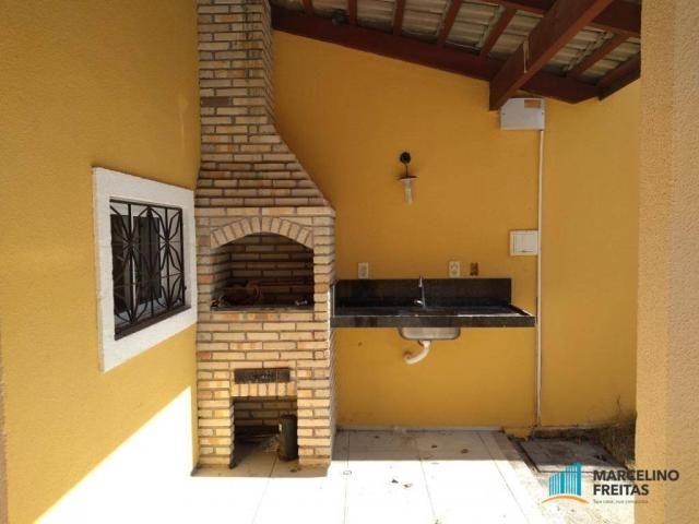 Casa com 3 dormitórios para alugar, 120 m² por r$ 1.239,00/mês - tamatanduba - eusébio/ce - Foto 20