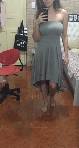 Vestido cinza - Foto 2