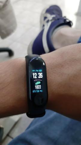 SmartBand M3 NOVO ? (Pulseira inteligente / Monitor cardíaco / Pressão arterial) - Foto 5
