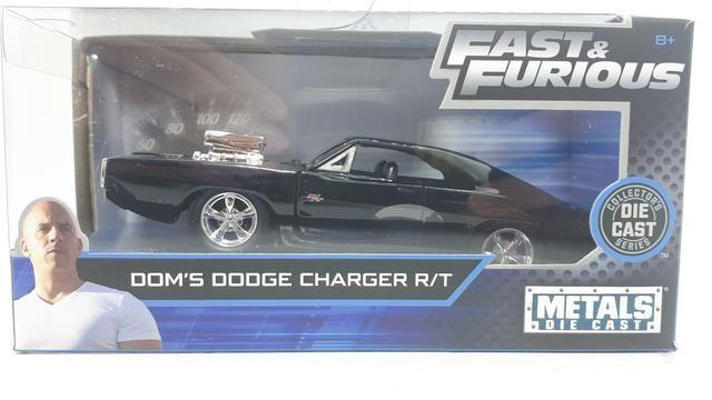 Miniatura Dodge Charger Velozes e Furiosos