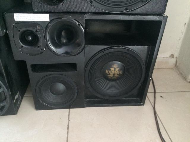Caixa dutada MB4.0 2000wrms 12? + d250x + st300 + mid bass. 8? 250wrms
