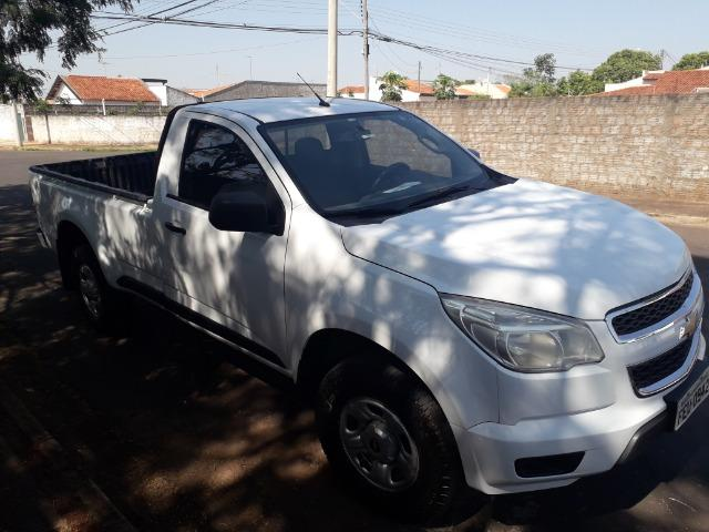 S10 2012/13 2.8 diesel branca 4x2 cab. simples - Foto 16