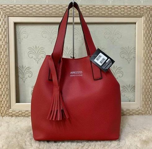 Bolsa Sacola Vermelha - Foto 2
