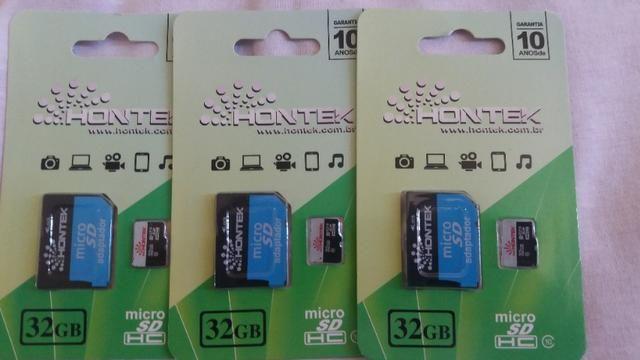 Cartão de memória Micro SD 32GB classe 10