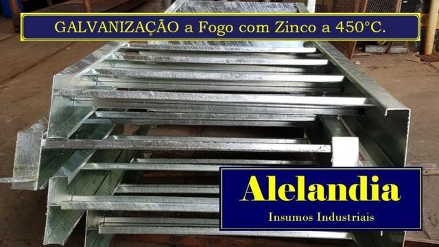 Galvanização a Fogo a forno a 450°C na Alelandia - Foto 2