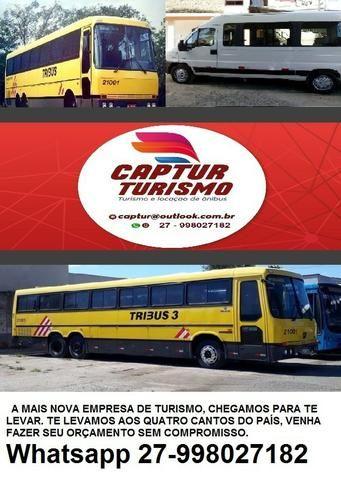 Fretamento de ônibus / van / turismo