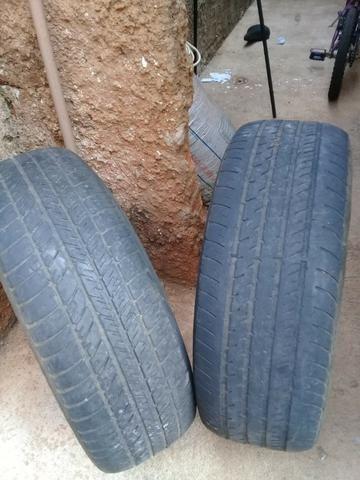 Pneus aro 15/ meia vida/ dois pneus por 120 reais/ * whatsapp