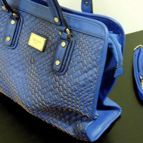 Bolsa Original Veryrio Azul Feminina - Foto 3