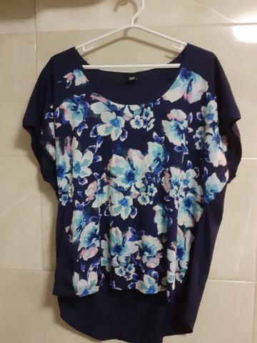 Blusas GG/ XG Femininas de ótima qualidade. Crepe e viscose - Foto 5