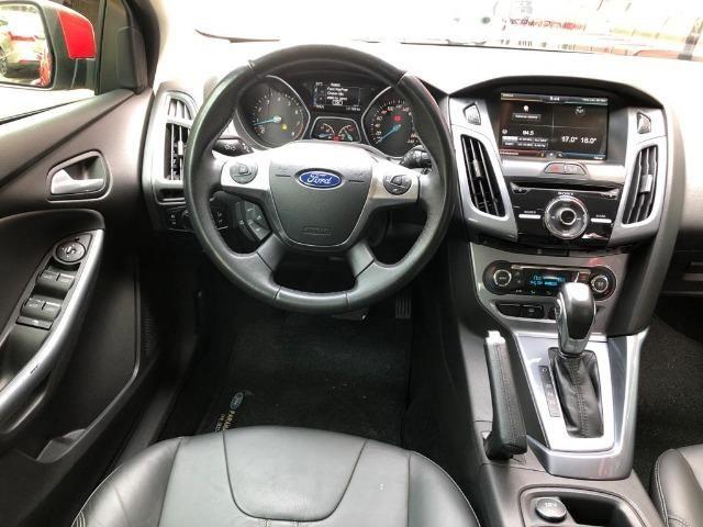Ford Focus Titanium 2.0 auto 14/15 Abaixo da fipe (novinho) - Foto 9