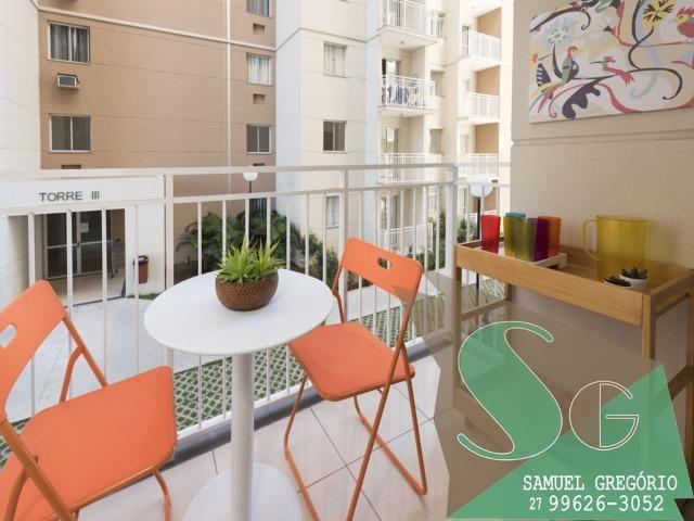 SAM - 08 - Via Sol - 48m² - ITBI+RG grátis - Morada de Laranjeiras - Serra, ES - Foto 3