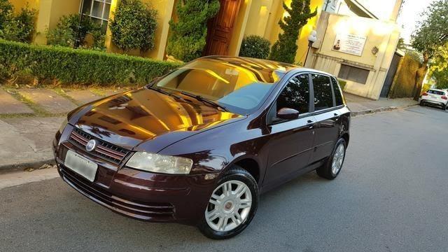 Fiat Stilo 1.8 8v Motor Chevrolet 2003 Bancos em Couro