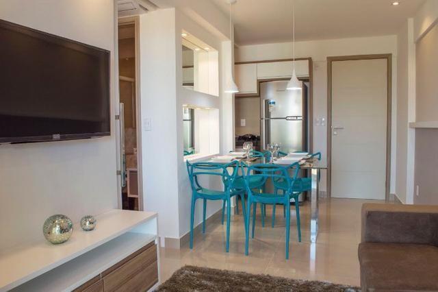 Apartamento em Ponta Negra - 40m² e Cobertura de 80m? - Vida Calma - Foto 9