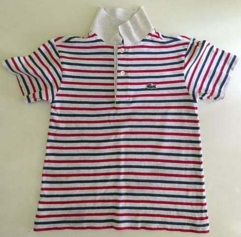 Camisa infantil Lacoste original - Roupas e calçados - Coelho Neto ... 374d90773f