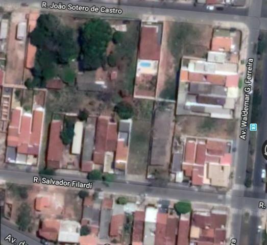 Vendo lotes de terreno inteiros plano 504 m2 todos juntos ou fracionados vila industrial